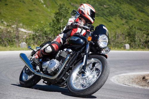 Motorcycling in Ischgl